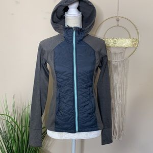 h&m • padded outdoor activewear jacket